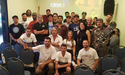 Reunião na CBSK entre federações e atletas de skate