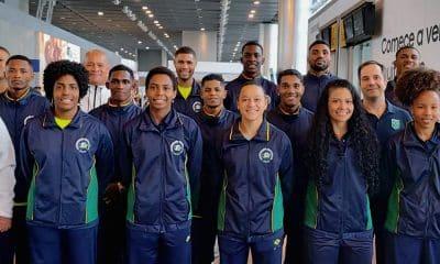 Seleção brasileira de boxe que vai ao Strandja Tournament