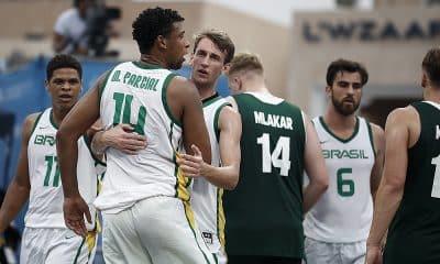 Seleção brasileira de basquete 3x3 vai disputar o Pré-Olímpico na Índia