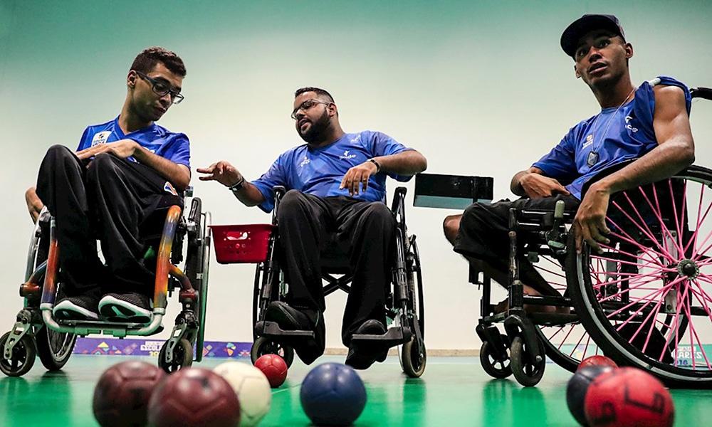 Seleção brasileira de bocha se prepara no Centro de Treinamento Paralímpico para Tóquio 2020