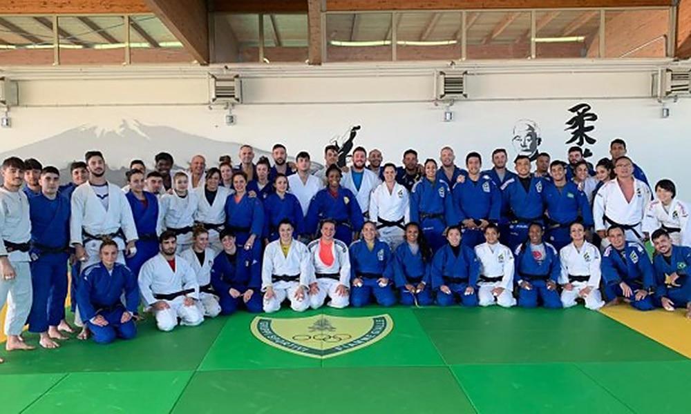 Seleção Brasileira de judô em Roma