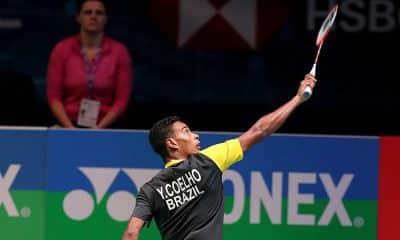 Ygor Coelho ficou na estreia do Super 300 da Tailândia de badminton
