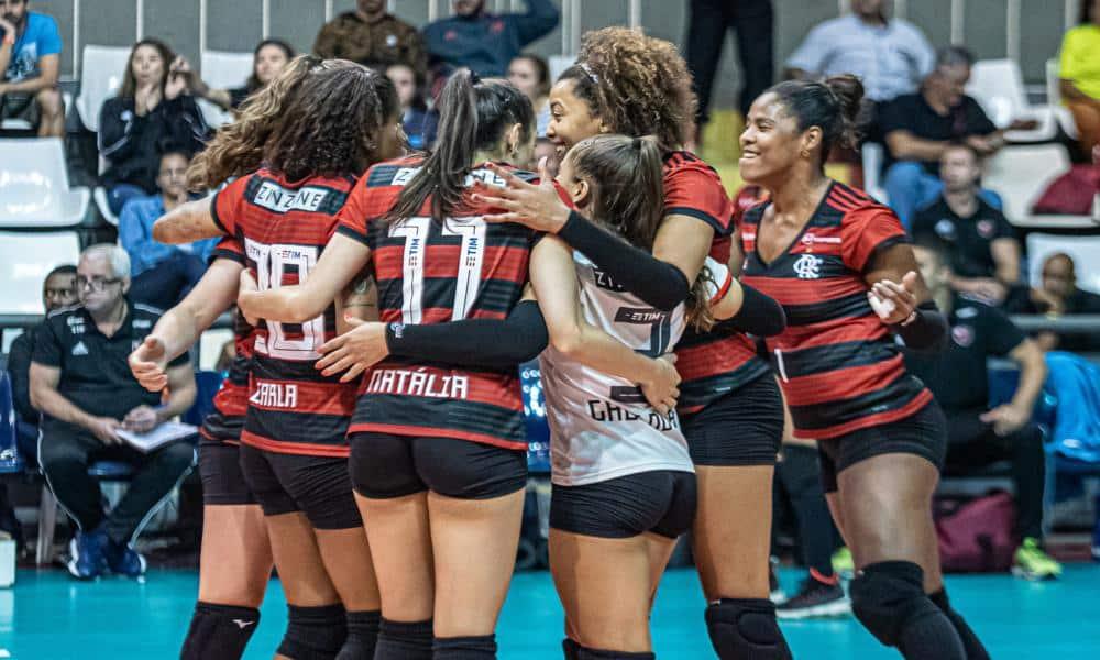 Flamengo x Curitiba - Superliga Feminina