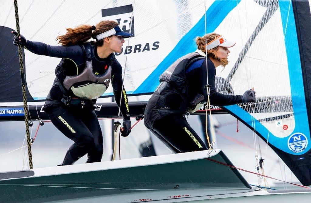 Martine Grael e Kahena Kunze - Mundial classificação