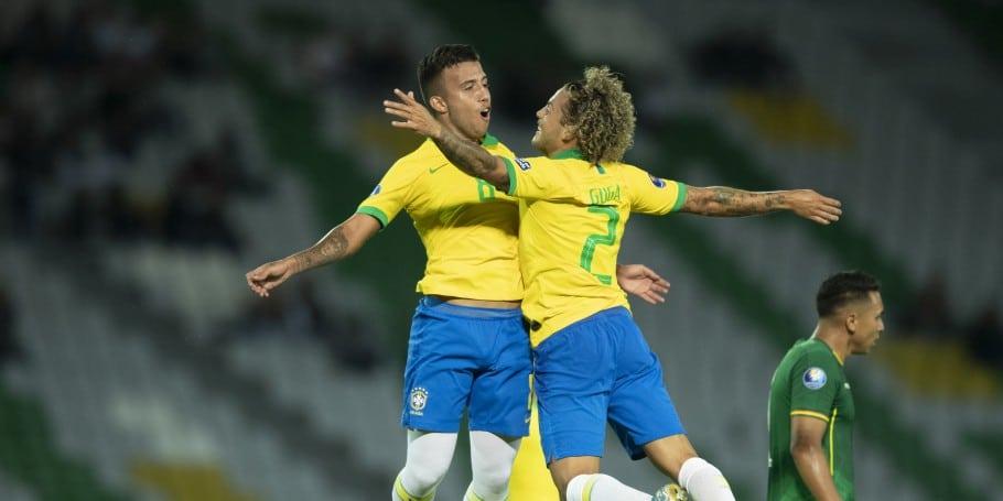seleção de futebol masculino se classificou para a Olimpíada de Tóquio depois de ganhar de 3 a 0 da Argentina