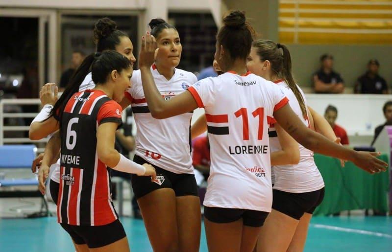 São Paulo/Barueri x Pinheiros- Superliga Feminina