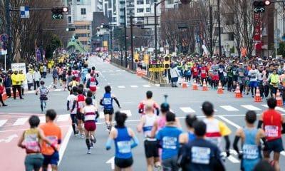A organização da Maratona de Tóquio anunciou na madrugada desta segunda-feira (17) o cancelamento da disputa da prova para os atletas amadores por conta da epidemia do coronavírus