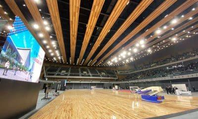 Ariake Arena receberá as competições do vôlei e do basquete em cadeira de rodas em Tóquio-2020