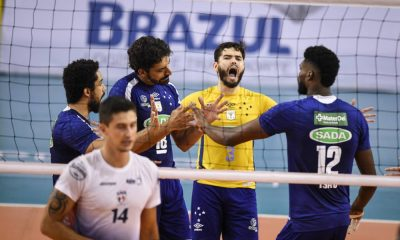 Com tropeço do Taubaté, Cruzeiro amplia vantagem na Superliga
