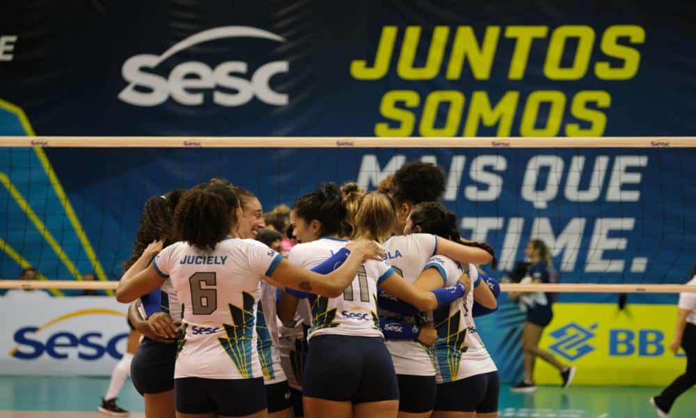 Sesc RJ x Praia Clube - Superliga Feminina