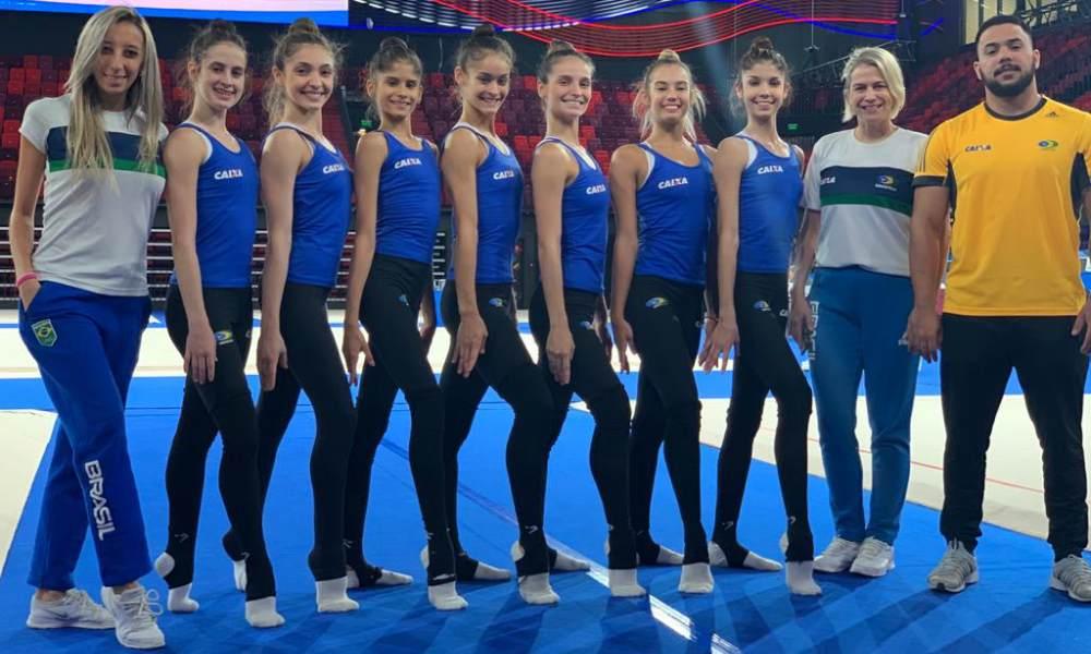 De olho em vaga olímpica, seleção de conjunto inicia temporada (1)