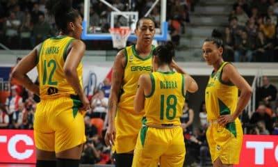 França x Brasil - Pré-Olímpico de basquete feminino