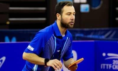 Humberto Manhani disputa o Aberto de Portugal de tênis de mesa