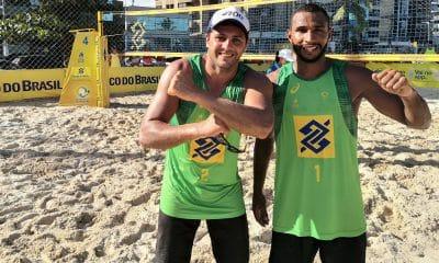 Luan e Pablo, etapa de maceió do circuito brasileiro de vôlei de praia