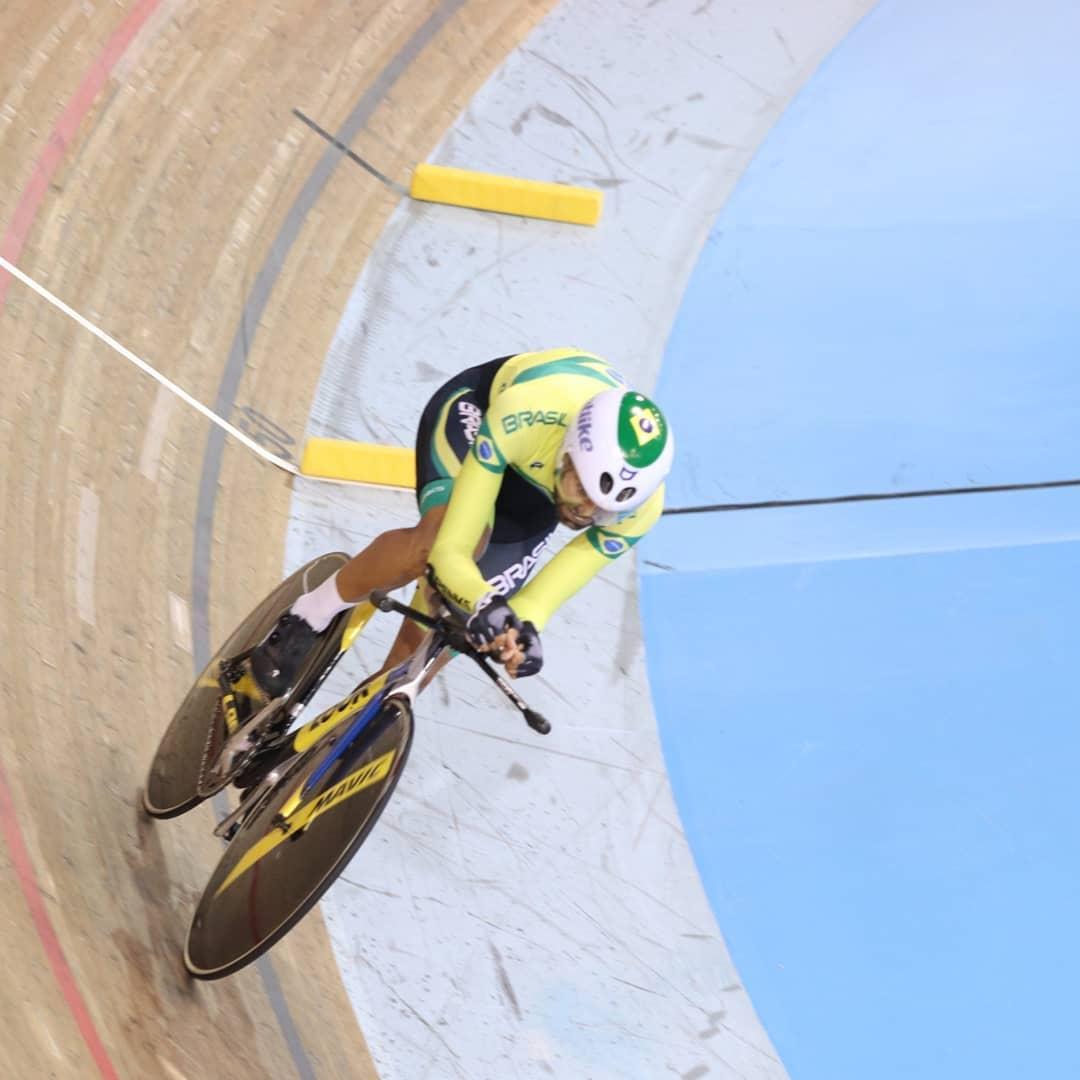 Lauro Chaman conquista mais duas medalhas no Mundial de pista - Fotos: Yuri Coghe/Divulgação