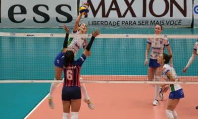Minas x San Lorenzo - Sul-Americano de clubes de vôlei feminino
