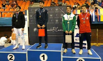 Paulo Morais Pan-Americano cadete e juvenil de esgrima