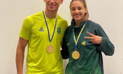 Milena Titoneli e Ícaro Miguel