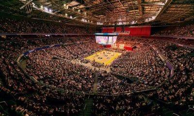 Arena do Sydney Kings, na NBL - basquete australiano