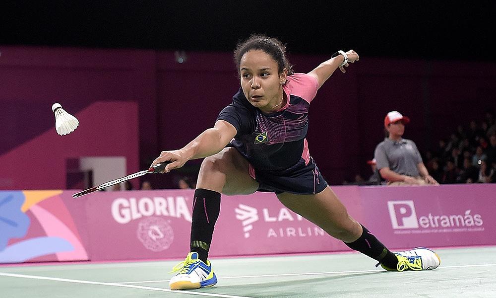 Fabiana Silva Pan-Americanos por equipes de Badminton