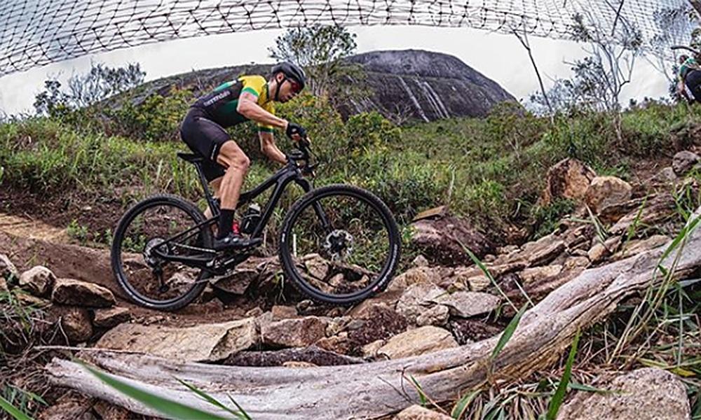 Guilherme Muller terceiro lugar no Aberto de Santa Maria de Cross-Country no ciclismo Mountain Bike MTB