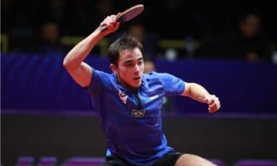 Hugo Calderano venceu em Porto Rico. Crédito: ITTF.