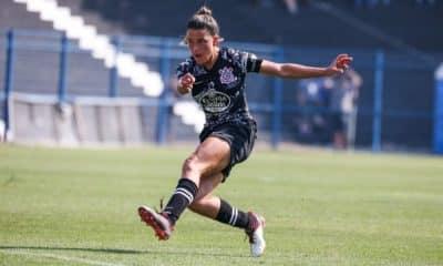 Tamires, lateral-esquerda do Corinthians e da seleção brasileira - Foto: Agência Corinthians