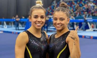 Camila Lopez e Alice Gomes na Copa do Mundo de Baku - Foto: Reprodução/Instagram