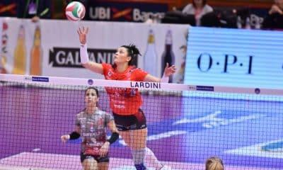 Rosamaria é fundamental na vitória do Perugia pelo Italiano - Foto: Divulgação/Perugia