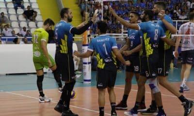 Sesc-RJ vence Apan Blumenau pela Superliga - Foto: Raphael Guilherme Moser/Apan Blumenau
