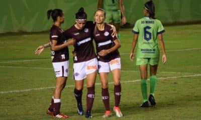 Feroviária goleia o Palmeiras pelo Campeonato Brasileiro de futebol feminino - Foto: Divulgação/Ferroviária