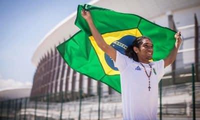 Luiz Oliveira, o Bolinha, segue os passos do avô no boxe brasileiro. - Foto: Foto Jonne RorizExemplusCOB