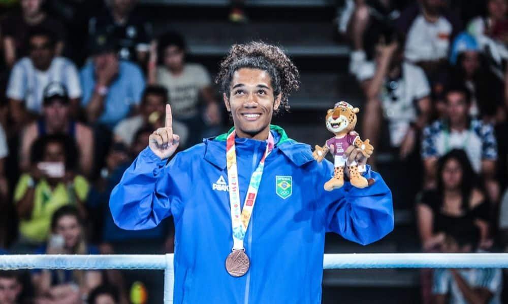 Luiz Oliveira, Bolinha com a medalha de bronze nos Jogos Olímpicos da Juventude em 2018