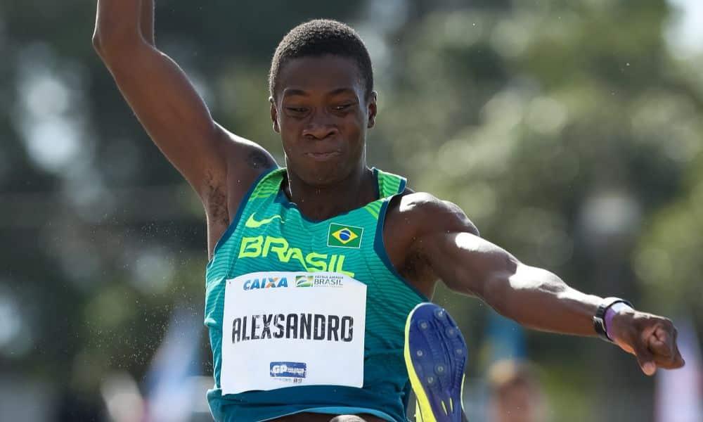 Alexsandro Melo Bolt Medalha Olímpica Jogos Olímpicos de Tóquio 2020 salto em distância Tóquio