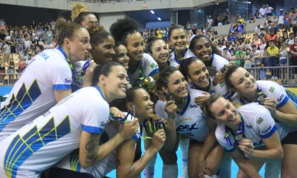 Sesc-RJ vence Praia Clube e conquista a Copa Brasil - Foto: Gisa Alves