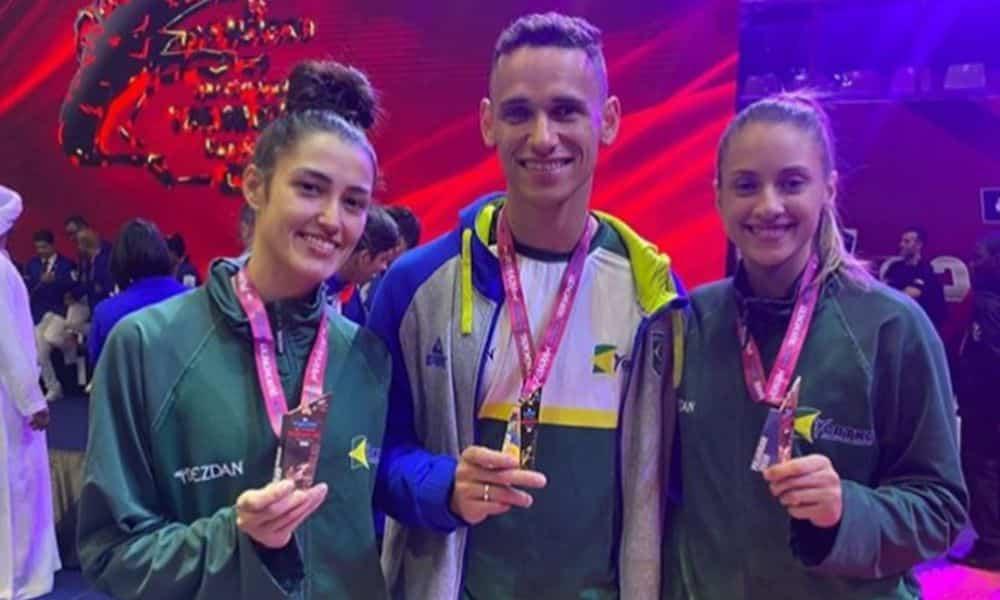 Brasil conquista quatro medalhas no aberto de Aberto de Fujairah de taekwondo
