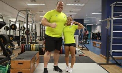 Atletas do Time Brasil treinam nas instalações do COB - Foto: Rafael Bello/ COB