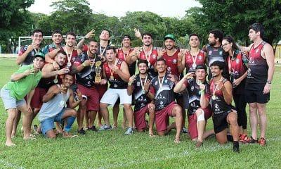 Jacareí Rugby bate Farrapos (RS) e é tricampeão do Super Sevens