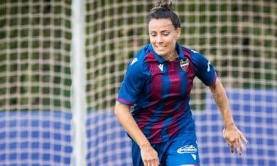 Jucinara, do Levante, no futebol feminino da Europa