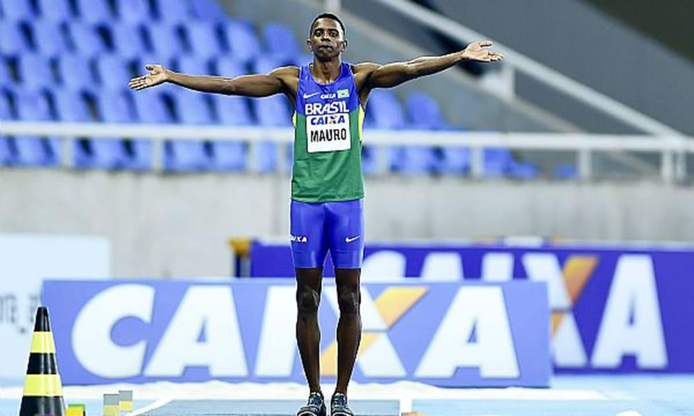 Mauro Vinícuis Duda da Silva, do salto em distância, anuncia aposentadoria