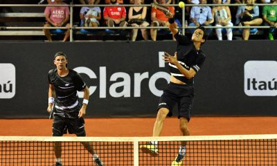 Marcelo Melo e Lukasz Kubot no Rio Open