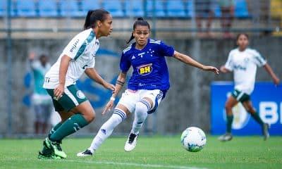 Palmeiras vence o Cruzeiro no Brasileiro de futebol feminino