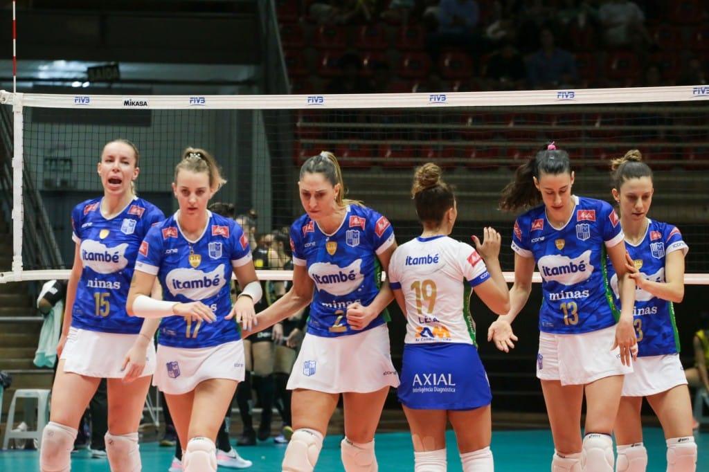 Minas x Sesi Vôlei Bauru - Superliga Feminina
