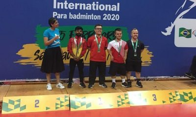 Vitor Tavares é campeão do Brazil Parabadminton International na Classe SH6
