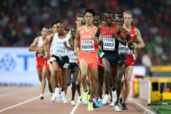 A prova dos 10.000m masculino é a mais longa de pista do programa dos Jogos Olímpicos