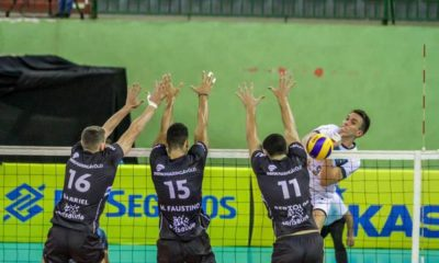 Vôlei Ribeirão vence confronto direto e ultrapassa Maringá
