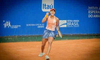 Teliana Pereira é uma das brasileiras na disputa do ITF de Olímpia