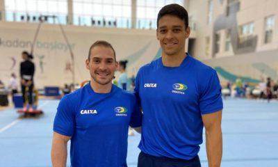 Seleção Brasileira de Ginástica Artística - Copa do Mundo Etapa de Baku (Divulgação/CBG)