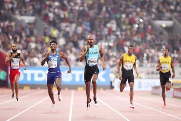 Steven Gardiner, de Bahamas, é o atual campeão mundial dos 400m masculino e grande favorito à medalha de ouro nos Jogos Olímpicos Tóquio 2020