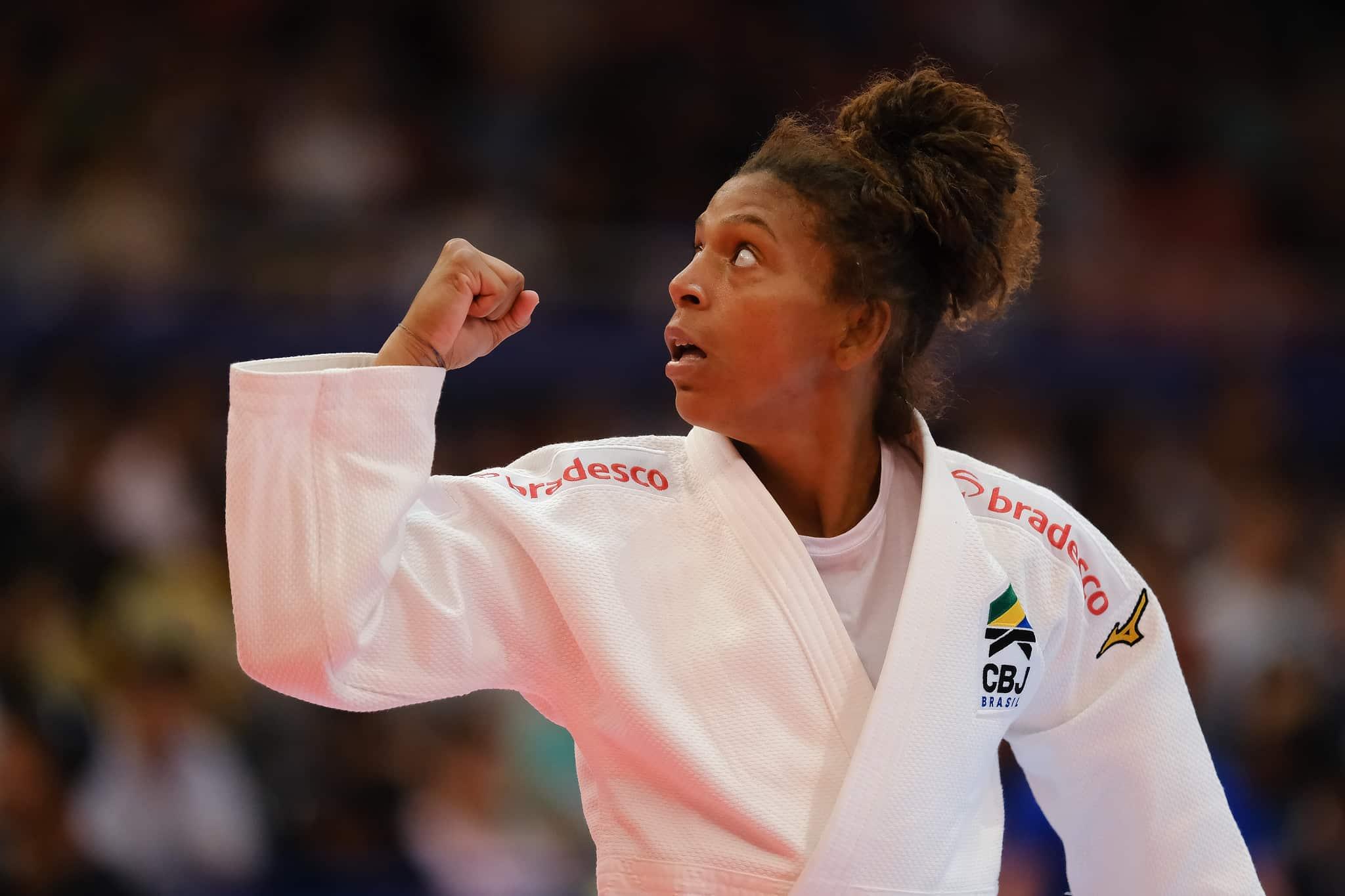 Rafaela Silva pode ser beneficiada com o adiamento dos Jogos de Tóquio
